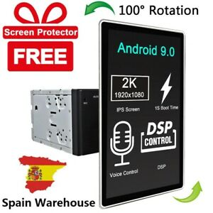 """12.8"""" Large Screen Android 9.0 Car Radio Stereo Double Din GPS Player Car Play"""