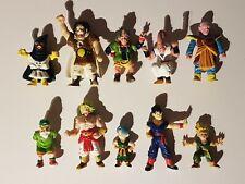 lot 10 figurines Dragon Ball z différentes AB TOYS 1989 (lot 1).
