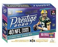 2020 PANINI PRESTIGE NFL FOOTBALL CARDS Mega Box 2 AUTOS Herbert Burrow Tua?
