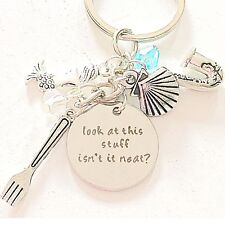 The Little Mermaid Accessories Ariel-Inspired Charm Keychain Look At This Stuff