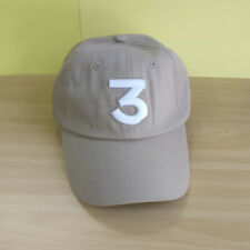 Beige Chance Rapper 3 Dad Baseball Cap Adjustable Yeezy Hip-pop Hat Classic