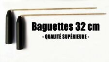 BAGUETTES PARALLÈLES DE SOURCIER EN LAITON 32cm - Baguettes coudées Tiges 31cm