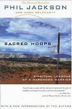 SACRED HOOPS by Phil Jackson FREE SHIPPING paperback book basketball coaching