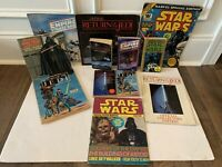 STAR WARS BOOK & MAGAZINE LOT X 12 VINTAGE 1980 1983 ANH ESB ROTJ LUKE DARTH