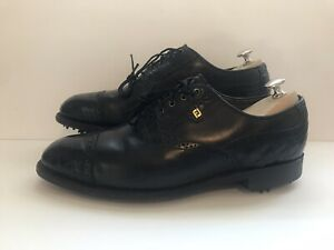 *VINTAGE Footjoy Classics Dry Mens Golf Shoes 51399 Size 9.5 D Made in USA
