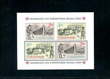 LOT 84456 MINT NH BUILDINGS SOUVENIR SHEET STAMPS FROM CZECHOSLOVAKIA