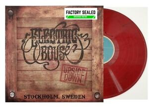Electric Boys – Upside Down LIMITED Edition Red Marble 180g Vinyl LP NEW