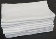 10 Pcs Cotton 80x35cm White Salon Beauty Pedicure Manicure Hairdressing Towels