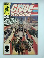 1985 G.I. Joe Yearbook #1 Marvel Copper Age COMIC BOOK