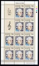 Malta 1985 postfrisch MiNr. 726-727 Europa  Europäisches Jahr der Musik