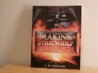 2005 Star Wars The Making Of Revenge of the Sith Book
