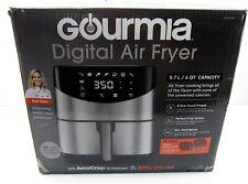 NEW Gourmia GAF685 6 Qt. Capacity Aero Crisp Stainless Steel Digital Air Fryer