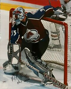 Colorado Avalanche Patrick Roy Signed 16x20 Photo HOG 2006 Fanatics Hologram