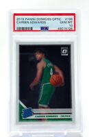 Carsen Edwards 2019-20 Donruss Optic Rated Rookie #196 PSA 10 Gem Mint Celtics