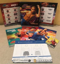 HIP HOP ABS SHAUN T FITNESS DVD SET BEACHBODY 3 DVDS BODY BURN CARDIO THIGHS
