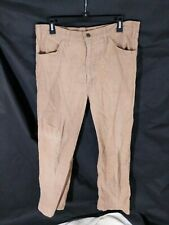 Vtg Levi's 646 1523 USA Talon Corduroy Worn Measures 34x30