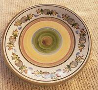Louisville Stoneware Pottery Fall Autumn Thanksgiving Acorn & Oak Dinner Plate