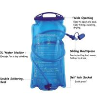 2L Water Reservoir Water Bag Hydration Pack Storage Tour Bag For Camping C9S1