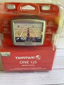 TomTom ONE 125 Customized Maps Automotive Mountable