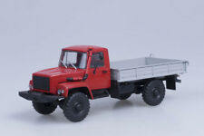 GAZ-33081 (Mot. D-245.7 Diesel Turbo) Exhibition board truck 4x4 100350.в 1:43 A