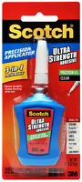 3M Scotch Ultra Strength Adhesive Clear Gel Precision Applicator