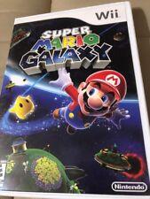 Super Mario Galaxy (Nintendo Wii, 2007) - Preowned Very Good Condition