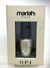 LIMITED - OPI - MARIAH CAREY HOLIDAY 2013 PURE 18K White Gold & Silver Top coat