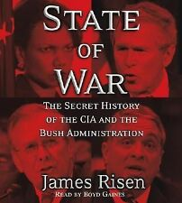 New State of War by James Risen ~ 5-Disc CD Abridged Audio Book