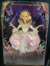 Disney Cinderella Live Action Fairy Godmother Doll 2014 Mattel Nrfb