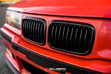 schwarz glänzende Nieren Frontgrill 3er BMW E36 Compact VFL M3 salberk 3601