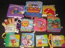 Waldorf Montessori Soft Books Developmental Baby Toy lot