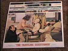 TRAVELING EXECUTIONER LOBBY CARD SET '70 ELECTRIC CHAIR