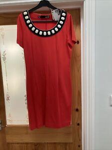 Red Moschino Dress