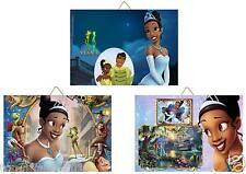 3 Cadres / Tableaux  Décoratif chambre enfant  la Princesse et la Grenouille 01