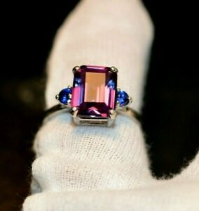 3.48+CT WOMAN S RING.RUSSIAN WELL TEST REAL LAB  ALEXANDRITE  90%COLOR CHANGE