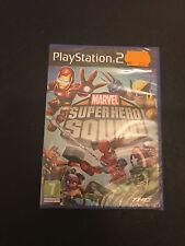 MARVEL SUPER HERO SQUAD, ps2, PAL FR, neuf sous blister