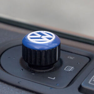 for VW T5, T6, Caravelle, California Mirror Switch / Cap (Aluminium)