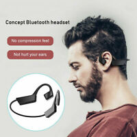 Portable Black Waterproof Outdoor Sports Bluetooth 5.0 Wireless Open-Ear Headset