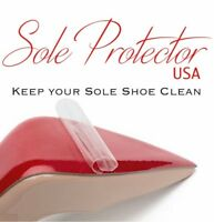 Crystal Clear 3M sole protector guard for Christian Louboutin red bottom