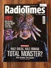 DOCTOR WHO RADIO TIMES 21 - 27 APRIL 2007  DALEK SEC HYBRID COVER