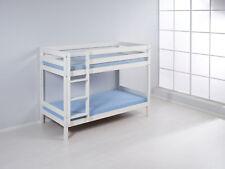 Lits superposés mezzanine de lit jouer Lit d'enfant lit Jelle Blanc 190x90 cm +