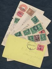 1892-1903 (6) DIFFERENT COVERS WITH DIFFERENT USAGES BQ9923