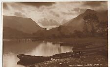 Llyn Padarn Llanberis, Judges 9000 North Wales Postcard, A912