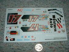 Monogram decals 1/24 1/25 Kit 2949M0320 western Auto Lumina Stock Car Lot1 Pp