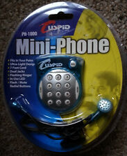 Cuspid PH-1000 Compact Mini-Phone Corded Telephone for Landlines