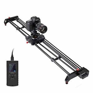 "GVM Camera Slider Motorized, 48"" DSLR Camera Track Dolly Slider Video Stabiliz"