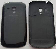 Samsung Galaxy S3 mini Akkudeckel Backcover  Rückseite aus PP Schwarz