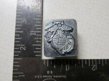 Vintage Rare Leather Working Tool Stamp Craftool 8379 Marine Insignia Crest Logo