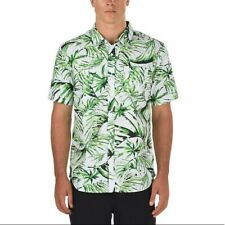 VANS Dress Shirt Button up Hawaiian Del Playa Down Men's Short Sleeve Medium M