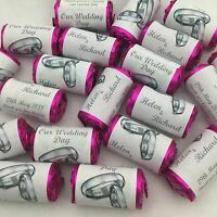 Personalised Mini Love Hearts Wedding Favours/Sweets